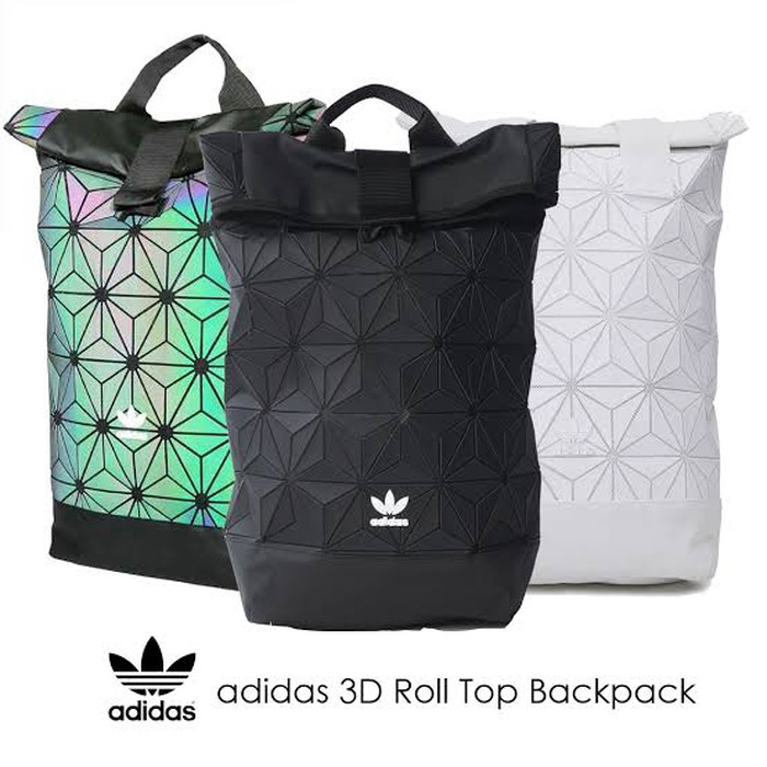 4523050c214 Jual Adidas 3D roll up issey miyake BACKPACK TAS PUNGGUNG HAND CARRY ...