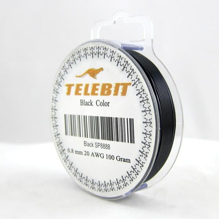 harga Kawat tembaga hitam cooper wire 08mm black bahan kerajinan kawat Tokopedia.com