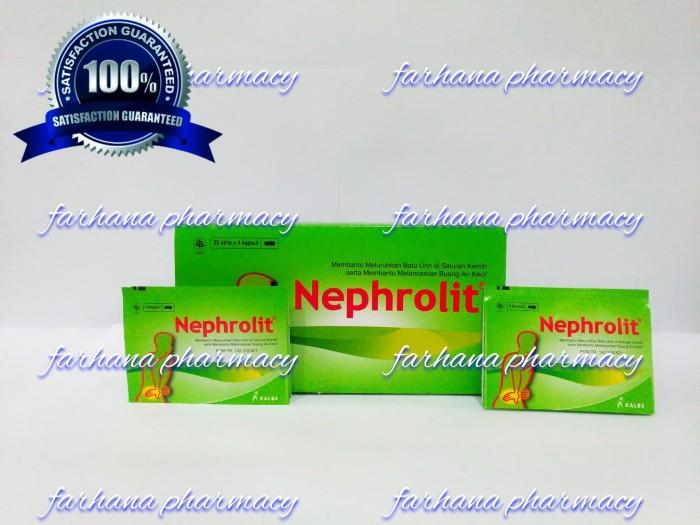 Foto Produk Nephrolit / obat kencing batu / nyeri kemih dari Farhana Pharmacy