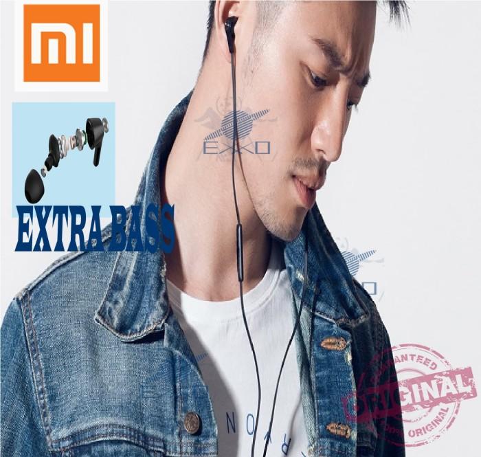 Handsfree Xiaomi Original Basic Youth Earphone Xiaomi Piston Earphone - Hitam - Blanja.com