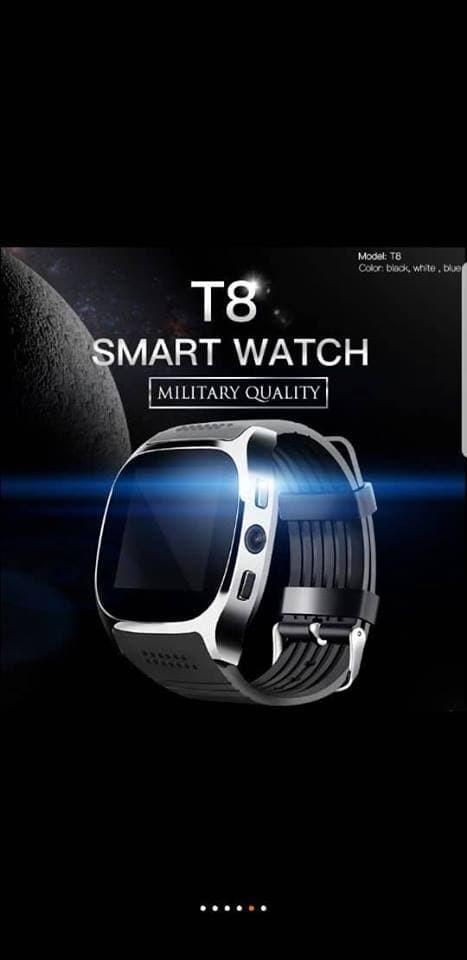 Smartwatch T8 - T8 Bluetooth Smart Watch Dukungan SIM Dan TF card