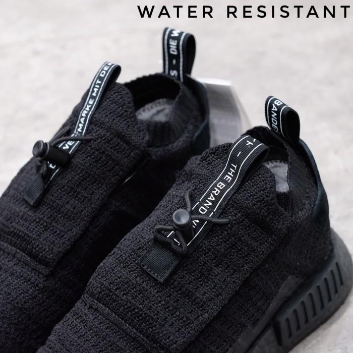 ca3d244610df2 Jual GORE-TEX NMD TS1 Triple Black Waterproof Sneaker - Kota ...