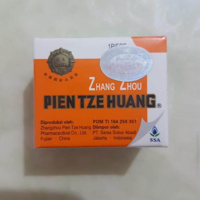 pien tze huang (obat china pasca operasi)