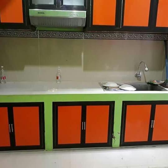 Jual Kitchen Set Alumunium Partisi Alumunium Acp Minimalis