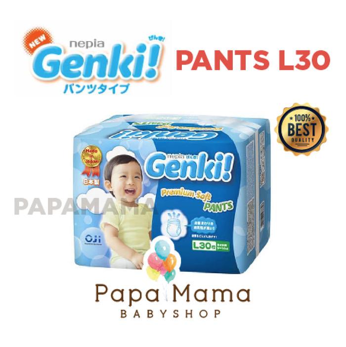 Nepia genki pants l30 l 30 perekat diaper popok bayi baby popok genki
