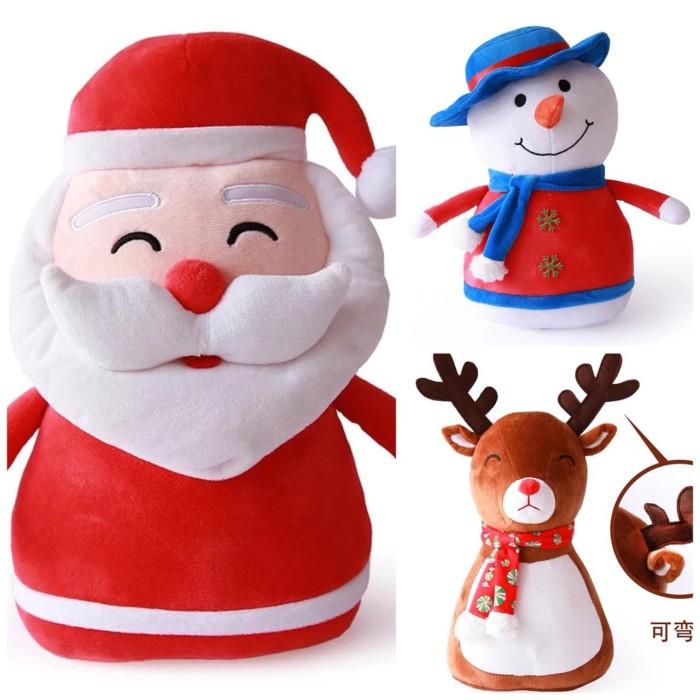 Boneka christmas xmas natal santa claus ice man deer rusa harga ... 899b7d5fcf