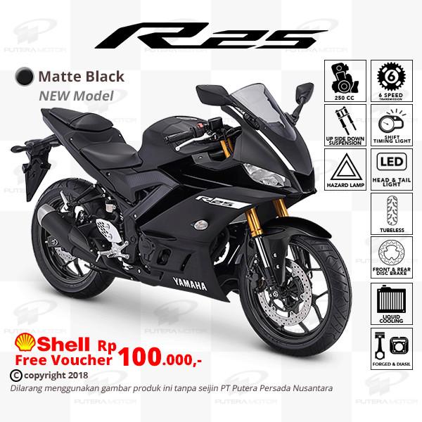 harga Yamaha r25 [new model] - otr bogor Tokopedia.com