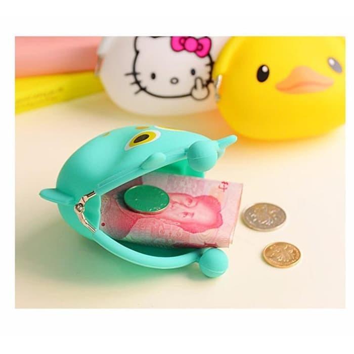 Dompet Koin Pochi Bentuk Kartun / Tempat Koin Uang Receh Barang - X401