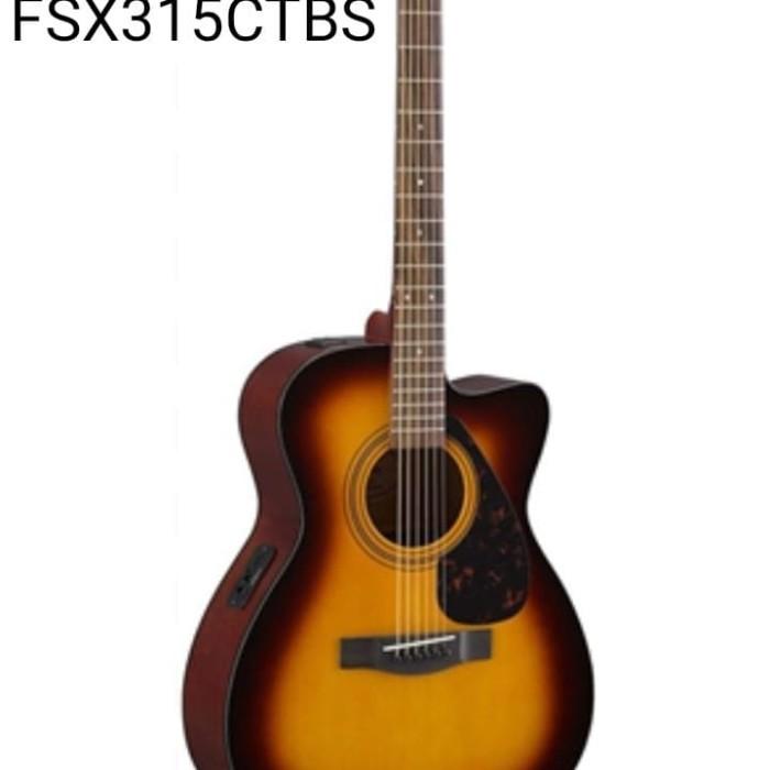 Jual YAMAHA ACOUSTIC FOLK GUITAR FSX315C TBS - Jakarta Selatan - Music  Square | Tokopedia