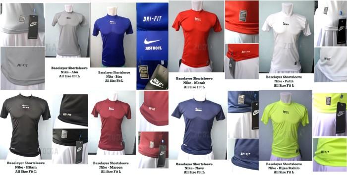 PROMOSI Baselayer Pendek Nike - Baju Fitnes