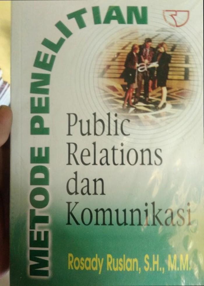 Buku Komunikasi-Metode Penelitian Public Relations dan Komunikasi