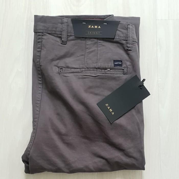harga Celana skinny fit chino zara man original not levis hnm stussy gap Tokopedia.com