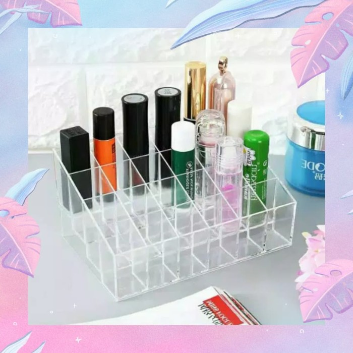 Rak lipstik acrylic