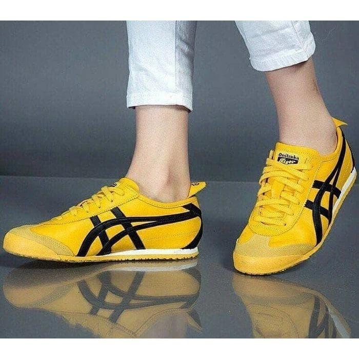 new product 08ecb 47b12 Jual Sepatu ASICS ONITSUKA TIGER MEXICO 66 KILL BILL premium original - DKI  Jakarta - treashoes | Tokopedia