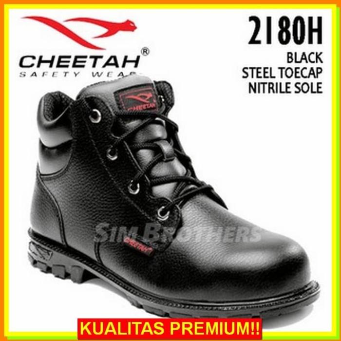 Jual Sepatu Keren Murah Toko Cheetah 2180h Sepatu Safety Shoes Harga Rp 486.000