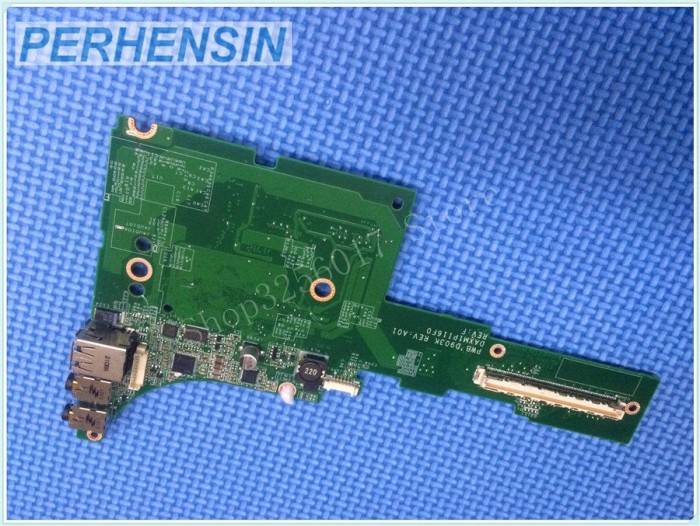 Dell Precision M6400 Audio Jacks USB Left IO Circuit Board W215F