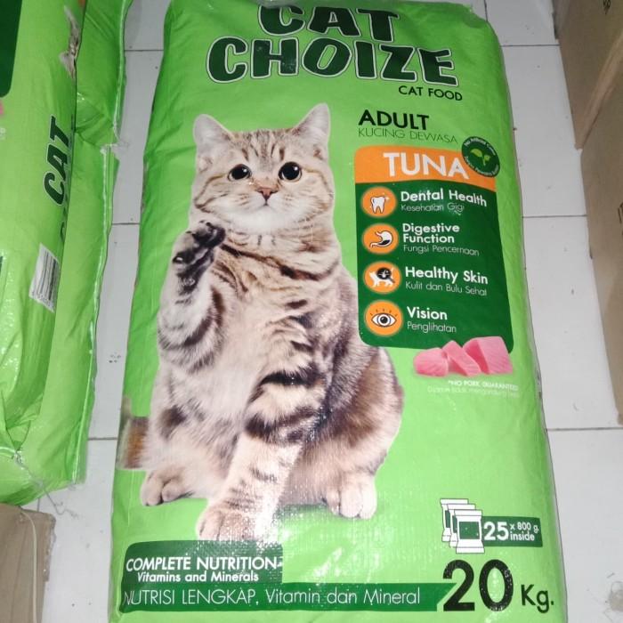 Jual Cat Choize Makanan Kucing 20kg Hanya Go Send Atau Grab Saja