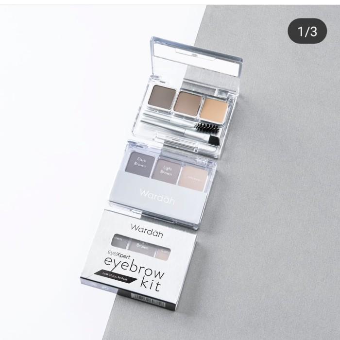 Wardah  Eyexpert Eyebrow Kit - Blanja.com