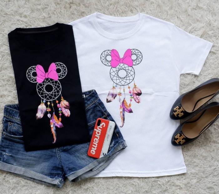 Jual Kaos tshirt tumblr tee cewek wanita dreamcatcher minnie import ... 7418e2fdfb