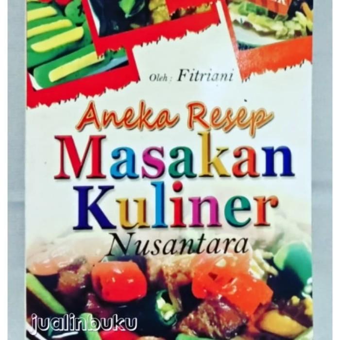 Jual Best Seller Buku Aneka Resep Masakan Kuliner Nusantara