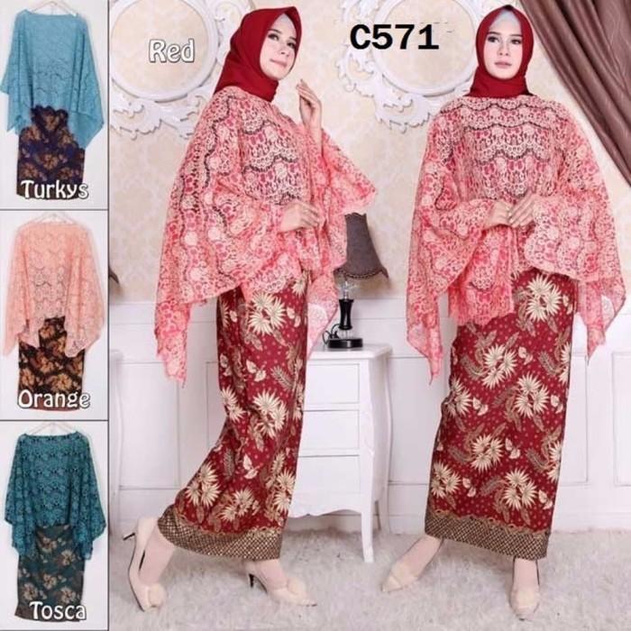 Jual Koleksi Terbaru C571 Set Kelelawar Brokat Baju Setelan Kebaya Modern Jakarta Barat Toelang Tokopedia