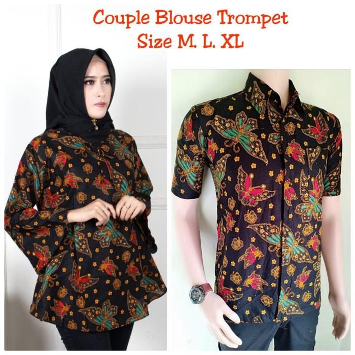 Jual Baju Batik Couple Remaja Atasan Batik Couple Atasan Terbaru Fra11 Kota Pekalongan Batik Shofiya Tokopedia