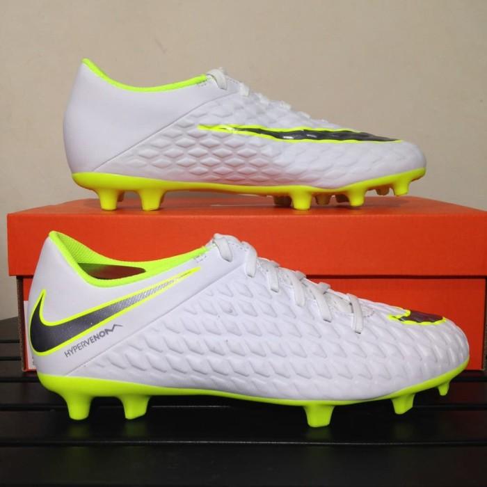 official photos 3c9f5 35d12 Jual SALE Sepatu Bola Nike Hypervenom 3 Club FG White Volt AJ4145-107 - DKI  Jakarta - Aku Tuku | Tokopedia