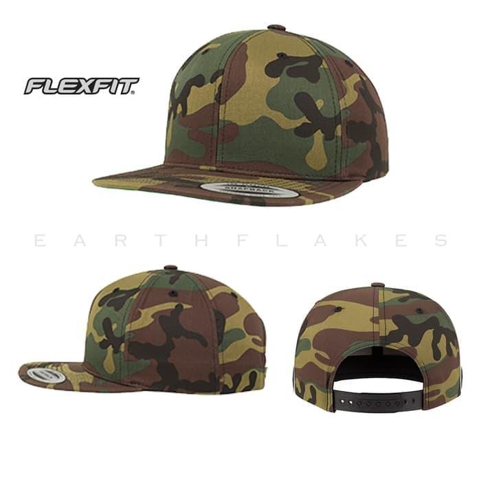 Jual Baru Topi Snapback Baseball Flexfit Yupoong 6089 Camo Army ... aaf8d7a9eb4d