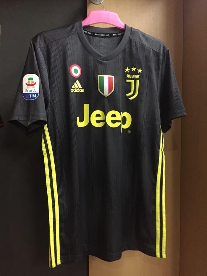 reputable site a0126 8d78c Jual Jersey Juventus Third 2018-19 Ronaldo Original Nameset pacth - Kab.  Lampung Selatan - bintangshare | Tokopedia