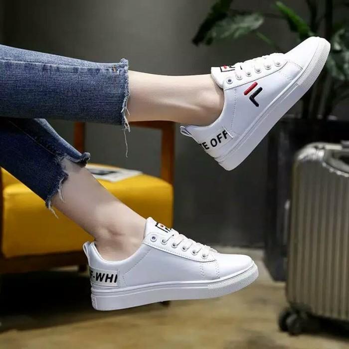 Jual Sepatu Wanita anak Abg Merk Fila Wanita Sneakers Sport Student ... 32c3f44533