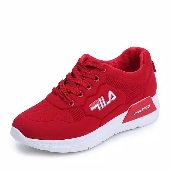 37c73bc7070cd0 Jual Sepatu Sport/sneakers Fila Wanita/anak Abg Casual Breatable ...