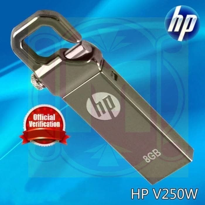 Foto Produk FLASHDISK HP 8GB/FLASH DISK HP/USB DRIVE dari aneka acc d