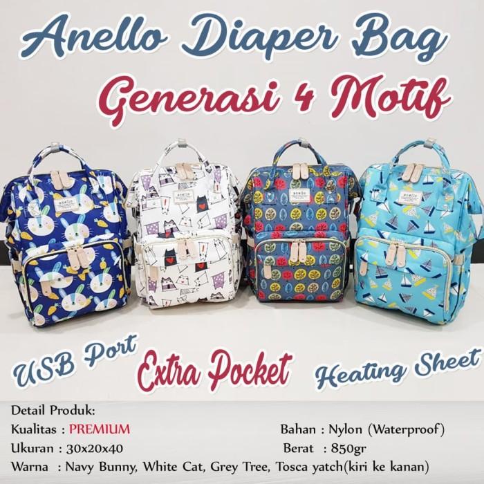 Anello Diaper Bag Motif Tas Diaper Ransel - Blanja.com