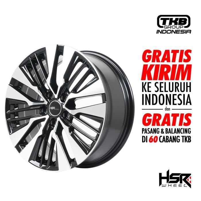harga Hsr wheel fairmont jd8382 hsr ring 18x75 h5x1143 et45 gbmf Tokopedia.com