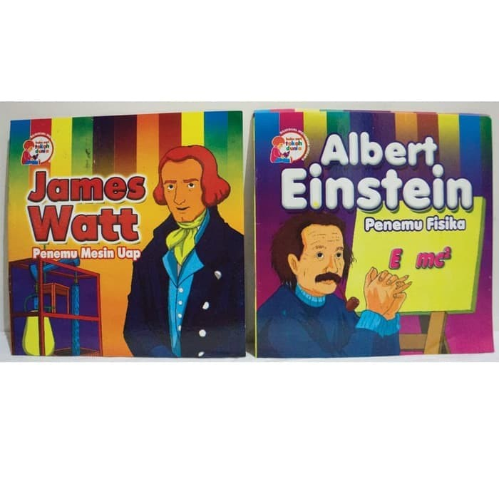 Termurah Buku Seri Tokoh Dunia - Buku cerita anak - dwi bahasa