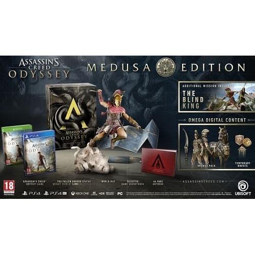 Jual Ps4 Assassin S Creed Odyssey Medusa Edition Jakarta Pusat