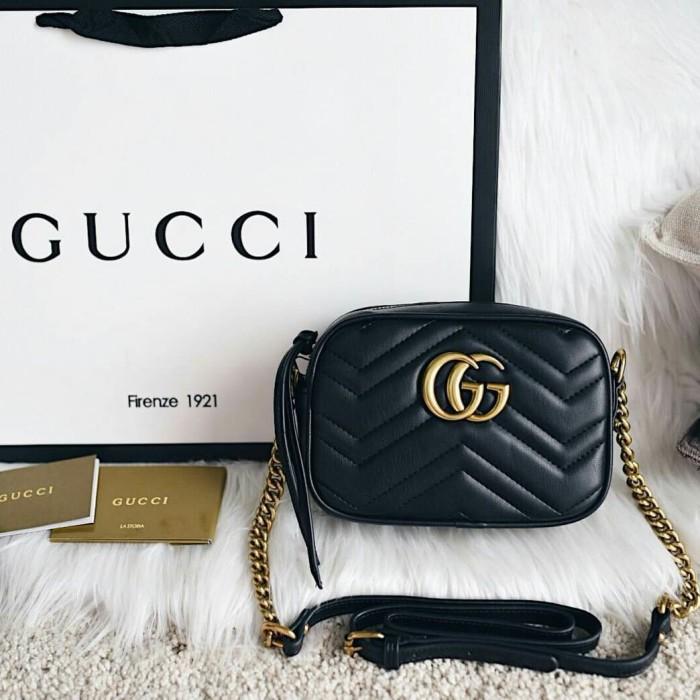 8e34cd51cd4e7c Jual Gucci GG Marmont Matelassé Mini Sling Bag - Kota Batam - Cories ...