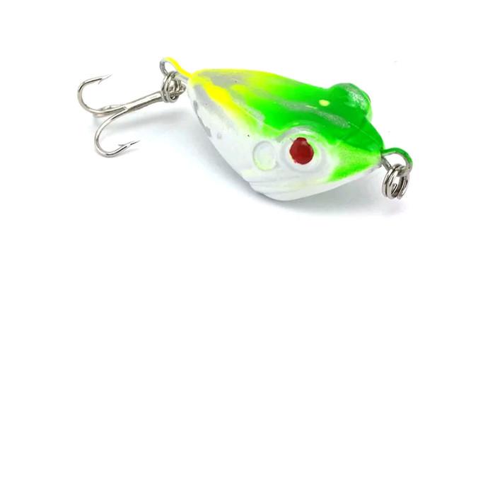 Luminous Bait Frog Lures Fishing Lure Bait Tackle Double hook Crankbait