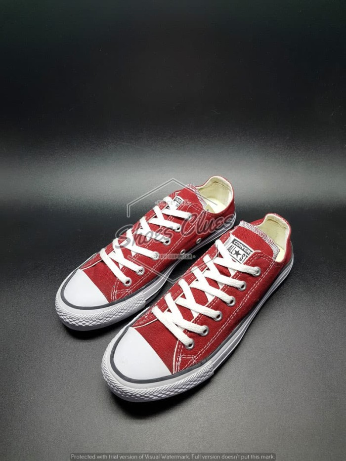 d452ee1d04cc Jual Sepatu Converse All Star LOW MAROON REAL PIC High Quality Harga ...