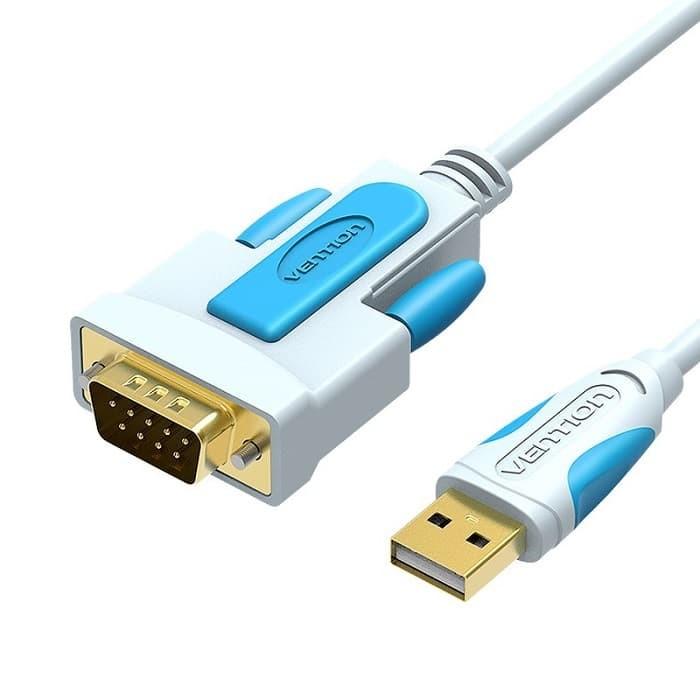Foto Produk Vention C02 1.5M - Kabel Konverter USB 2.0 to Serial RS232 DB9 9 Pin dari Vention Indonesia