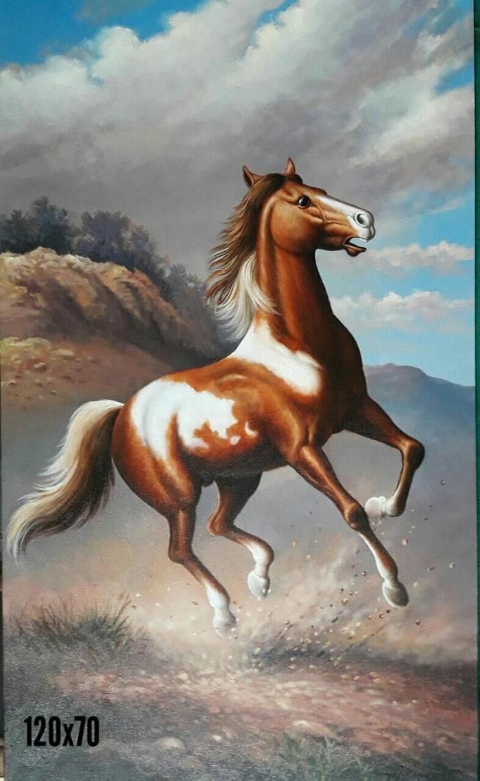 Jual Lukisan Canvass Kuda Kota Pekanbaru D Pedia
