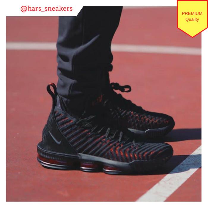 Jual Sepatu Nike Lebron XVI Fresh Bred Premium Quality - HarsoyoEko ... 9631e8cbeb