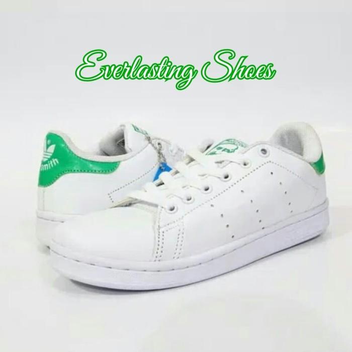 more photos 9937c 27abc Jual Sepatu Adidas Stan Smith Green Hijau Light Sneakers Sneaker Premium -  , - Jakarta Barat - Everlasting Florist   Tokopedia