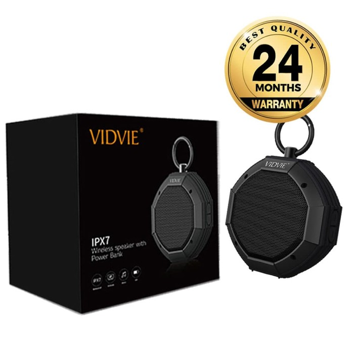 harga Vidvie wireless speaker sp901 / bluetooth / portable speaker - abu -abu tua Tokopedia.com