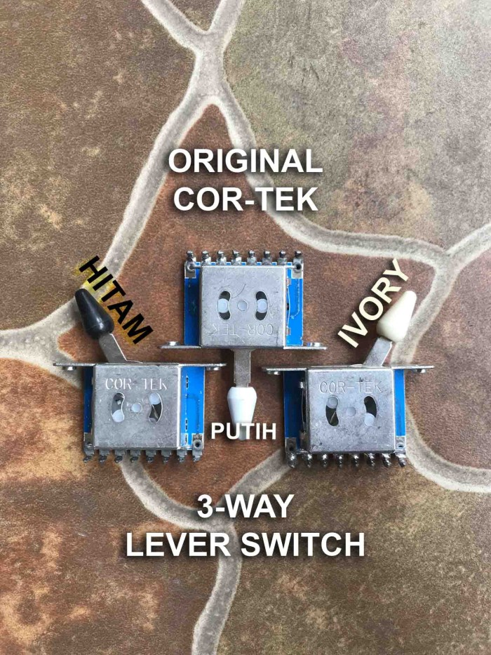 harga Lever switch gitar 3-way cortek selector guitar pickup for squier cort Tokopedia.com