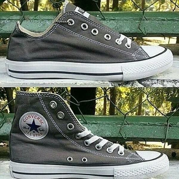 Jual Sepatu Converse All Star Original VIETNAM Grey - OiShop TKD ... b7f798a318