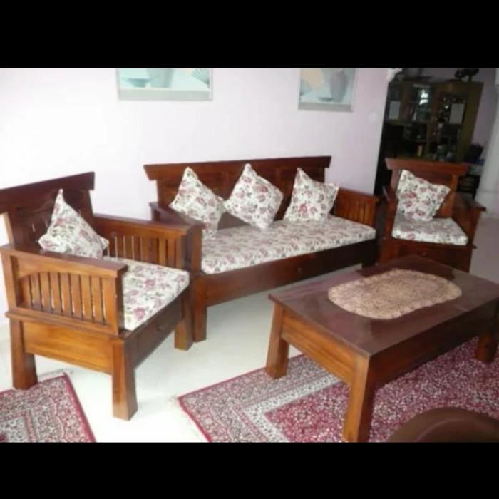 Jual Kursi Tamu Sofa Jati Minimalis Furniture Jepara Kab Jepara