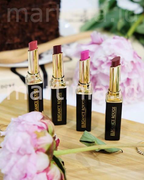 harga Lipstik elegance rouge red obsidian red 24 Tokopedia.com