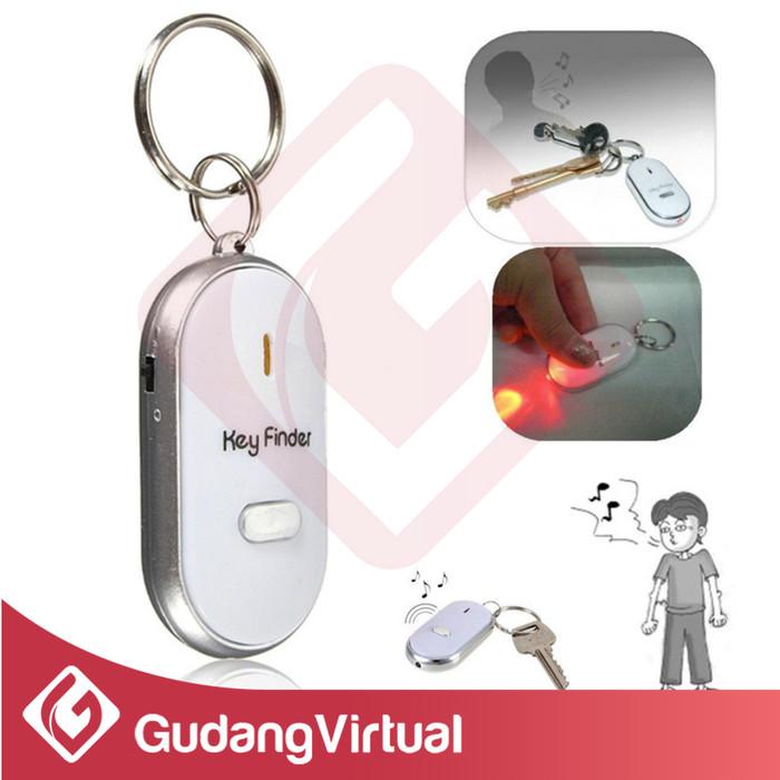 Gantungan Kunci Key Finder Gantungan Kunci Siul Alarm Motor Dan Mobil