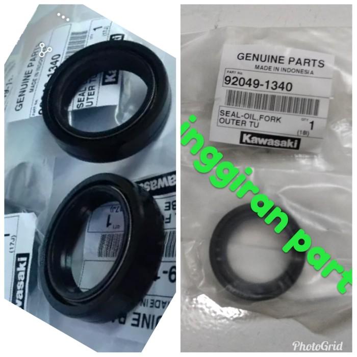 harga Seal shock breaker depan ninja 150 r dan rr harga sepasang Tokopedia.com